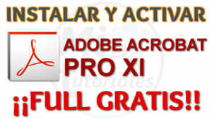 Acrobat Pro XI