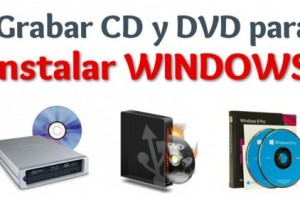 Imagen de Como quemar windows en DVD