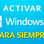 Imagen de como activar Windows 8 permanente