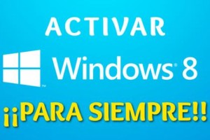 Imagen de como activar Windows 8 permanente