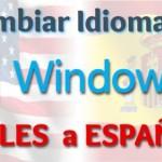 Imagen de Cambiar el idioma de Windows 8 de Ingles a Español