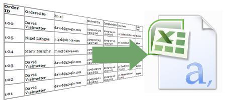 Imagen de como crear archivo CSV en PHP