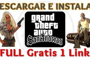 Imagen de Instalar juego GTA San Andreas Full PC 1 link