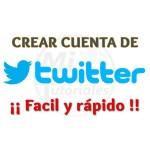 Imagen de Crear cuenta de Twitter en pocos segundos