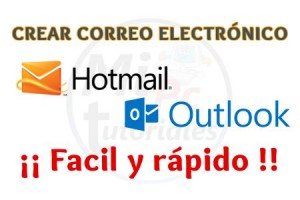 Imagen de Crear cuenta de correo electrónico Hotmail en pocos segundos