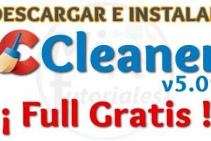 Imagen de Descargar e instalar CCleaner Full Gratis Español