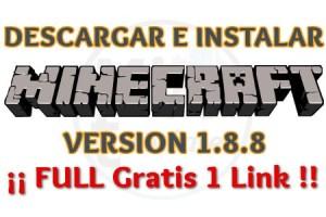 Imagen de Descargar e instalar Minecraft 1.8.8 full gratis