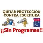 Imagen de Quitar protección contra escritura de disco duro y memorias extraibles