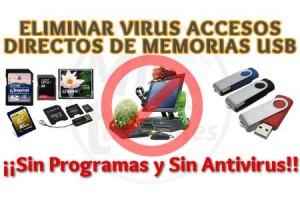Imagen de Eliminar virus de acceso directo en USB sin programas