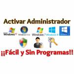 Activar la cuenta de Administrador en Windows