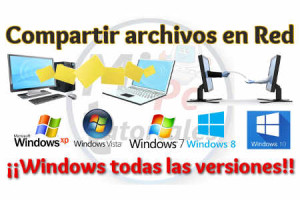 Compartir archivos en red Windows