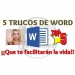 5 Trucos de Word que te facilitarán la vida