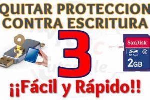 Quitar Protección Contra Escritura de Disco Duro y Memorias extraíbles Método 3